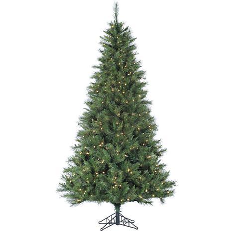 Canyon Pine 7-1/2' Christmas Tree with LED Lighting
