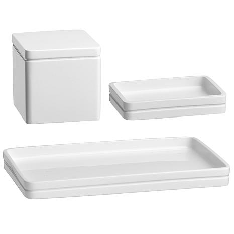 Captiva Set of 3 Bathroom Accessories