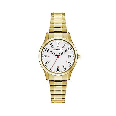 Caravelle  Bulova White Dial Watch