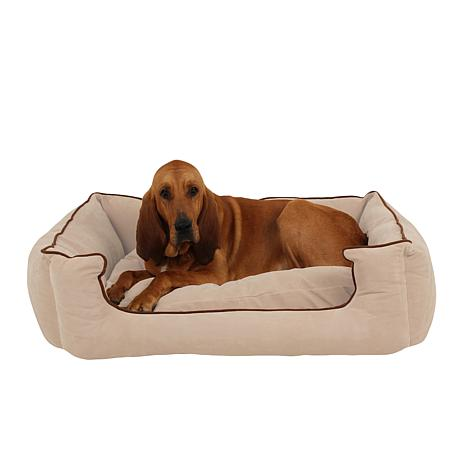 Carolina Pet Low Profile Kuddle Lounge with Memory Foam - L/XL