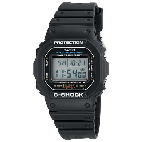 Casio Men's G-Shock  DW5600 Black Digital Watch