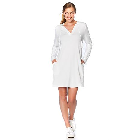 Caya Costa Hooded Pullover Beach Dress with UV Protection