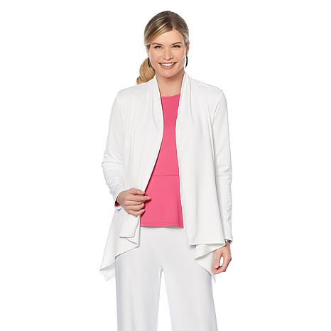 Caya Costa Long-Sleeve Wrap with UV Protection