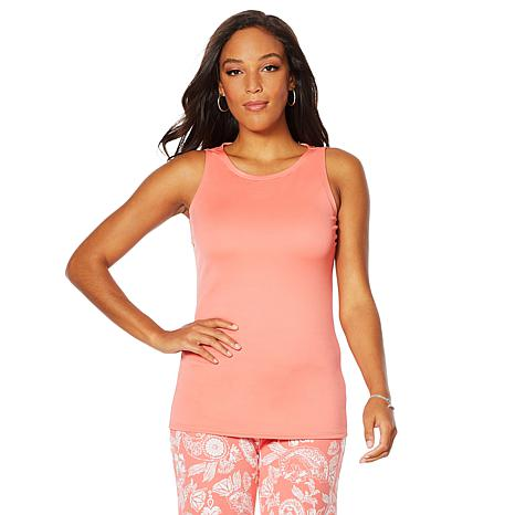 Caya Costa Tank Top with Built-In Bra and UV Protection