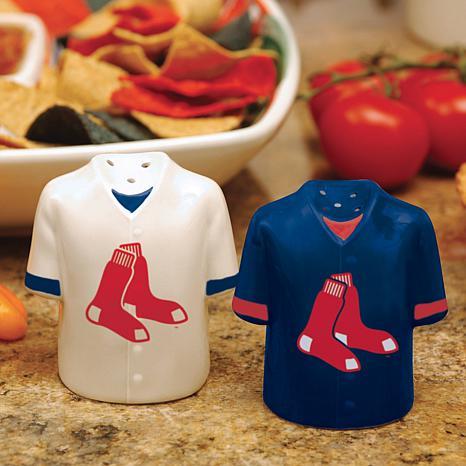 Ceramic Salt and Pepper Shakers - Boston Red Sox