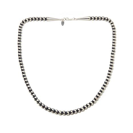 """Chaco Canyon Sterling Silver Beaded 20"""" Necklace"""