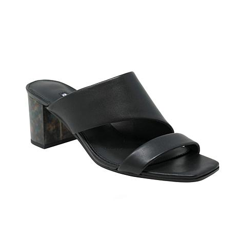 Charles David Chello Leather Heeled Sandal