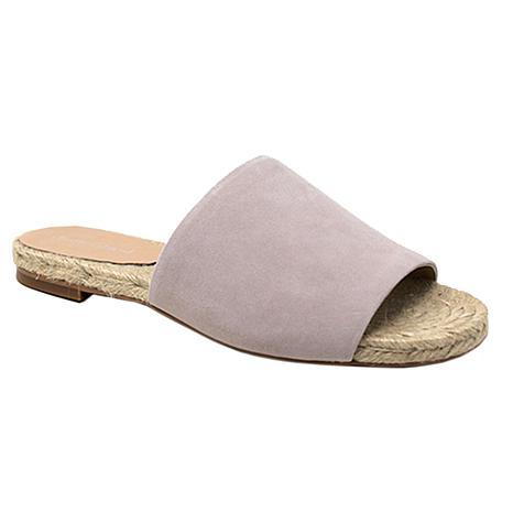 Charles David Spinner Leather Slide Sandal