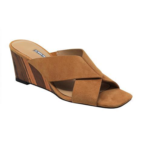 Charles David Testify Leather Heeled Sandal