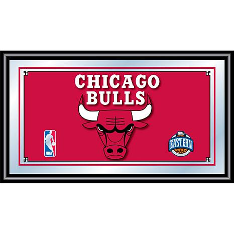 Chicago Bulls NBA Framed Logo Mirror