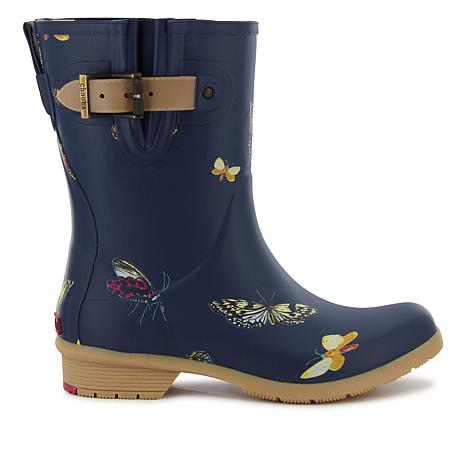chooka® Butterfly Matte Rubber Rain Boot
