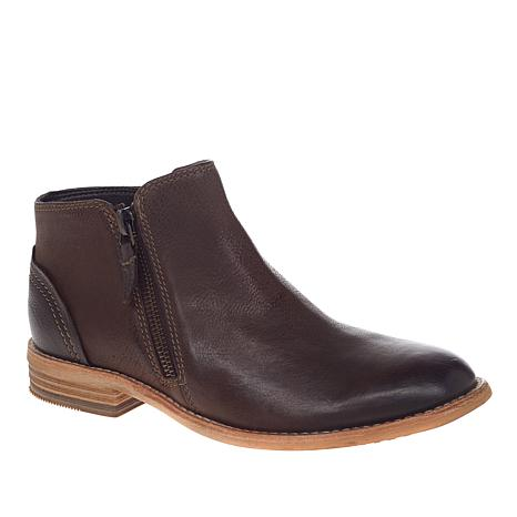 Clarks Artisan Maypearl Juno Leather or Suede Bootie