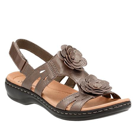 4359e45ce90a Clarks Leisa Claytin Lightweight Leather Sandal - 8791685