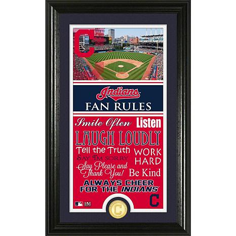 Cleveland Indians Fan Rules Supreme Bronze Coin Photo Mint