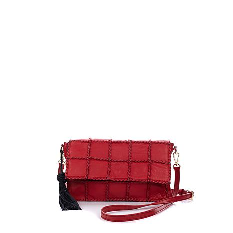 Clever Carriage Artisan Leather Crossbody - Limited Quantity