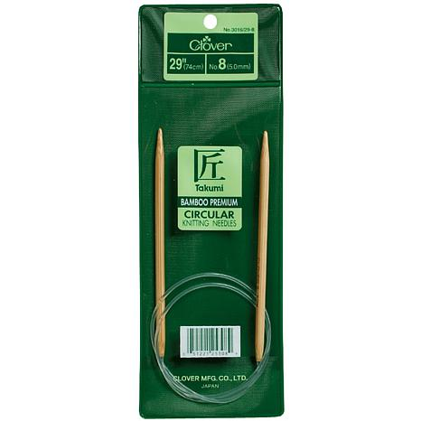 "Clover 29"" Bamboo Circular Knitting Needles - Size 13"