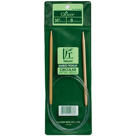 "Clover 36"" Bamboo Circular Knitting Needles - Size 13"