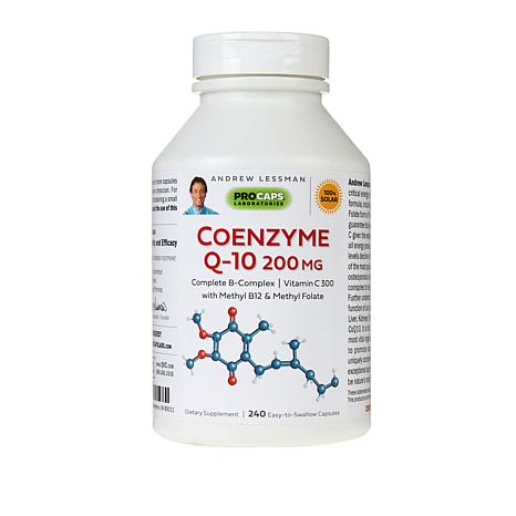 CoEnzyme Q-10 200 - 240 Capsules