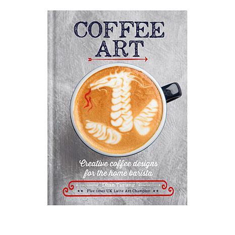 Coffee Art Cookbook by Dhan Tamang