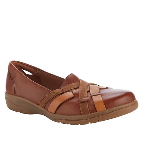 Collection by Clarks Cheyn Creek Leather Skimmer