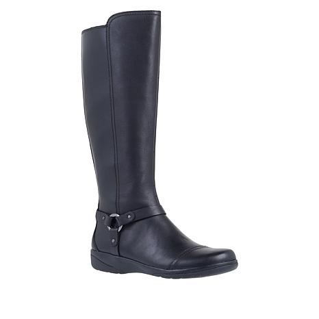 Collection by Clarks Cheyn Lindie Leather Riding Boot