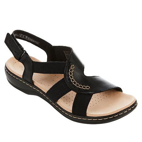 Collection by Clarks Leisa Joy Leather Sandal
