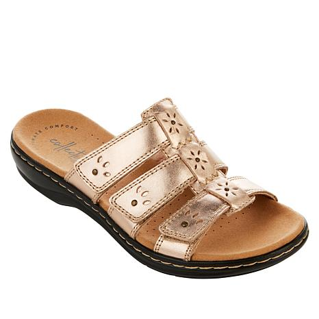 Collection by Clarks Leisa Spring Leather Slide