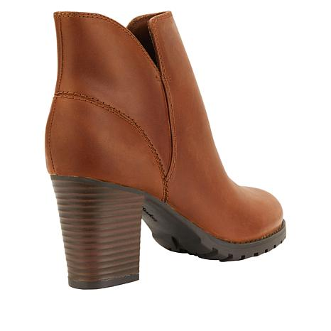 8e7ad808a6841 Collection by Clarks Verona Trish Leather Bootie - 8875121 | HSN