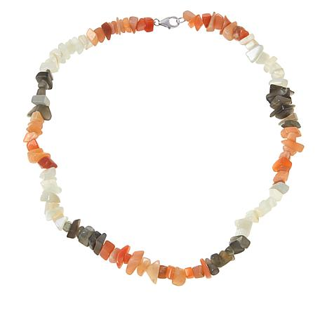 "Colleen Lopez ""Colors of Moonstone"" Necklace"
