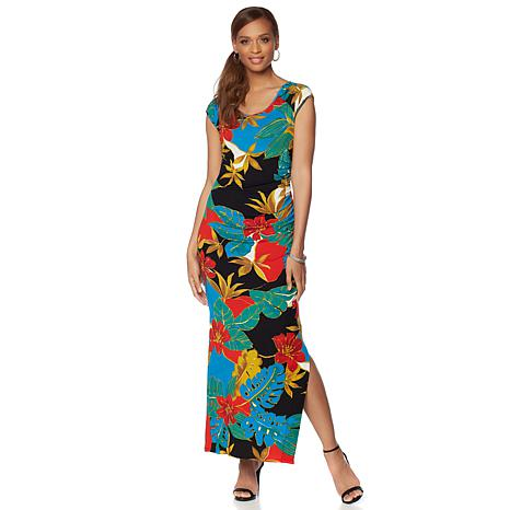 Colleen Lopez Isle Be There  Ruched Maxi Dress