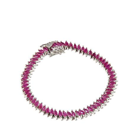 "Colleen Lopez ""Petals and Poetry"" Ruby  Bracelet"