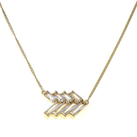 Colleen Lopez Wonder Woman Gemstone Arrow Necklace