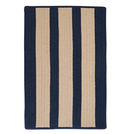 Colonial Mills Boat House 8' x 11' Rug - Navy