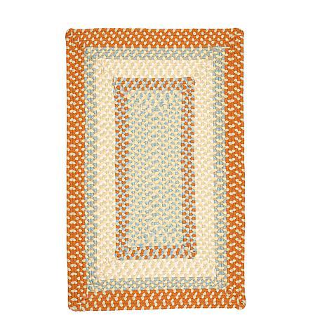 Colonial Mills Montego 8' x 11' Rug - Tangerine