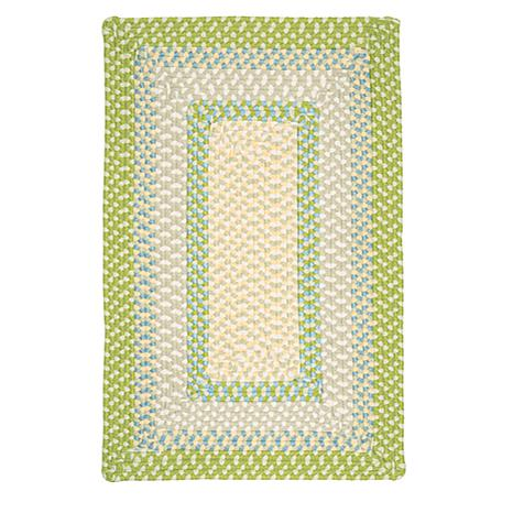 Colonial Mills Montego 8' x 11' Square Rug - Lime Twist