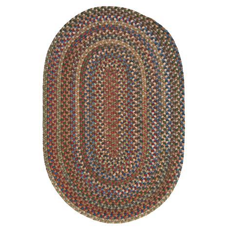 Colonial Mills Oak Harbour 8' Round Rug - Dusk