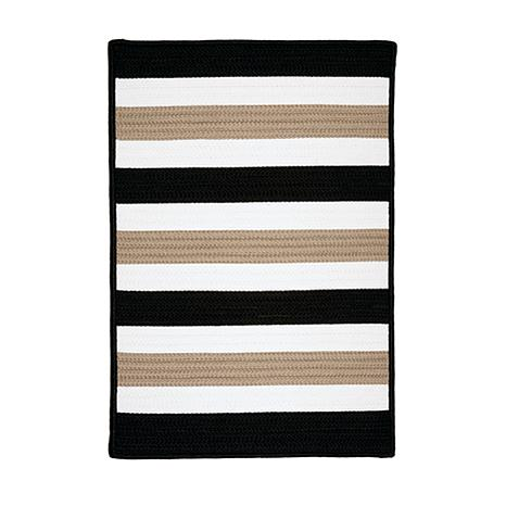 Colonial Mills Portico 2' x 3' Rug - Sharp Black