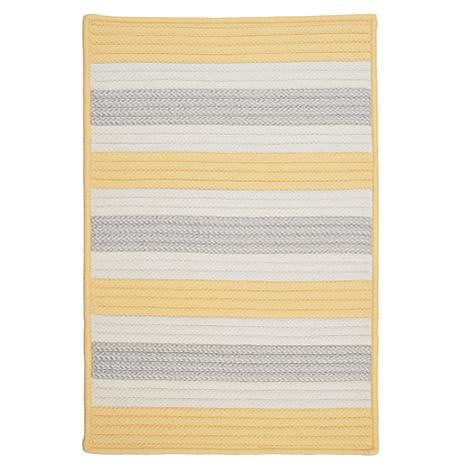 Colonial Mills Stripe It 5' x 8' Rug - Yellow Shimmer