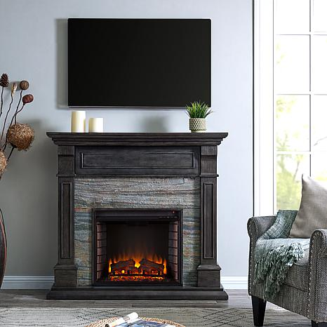 Awesome Colston Faux Stone Media Fireplace Home Remodeling Inspirations Gresiscottssportslandcom