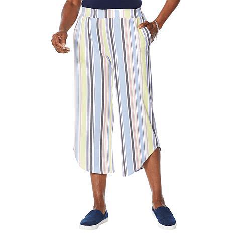 Comfort Code Capri Pant with Asymmetric Hem