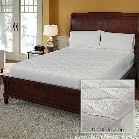 Concierge Collection Pure Rest 10 Memory Foam Quilted Mattress Twin 7845321 Hsn