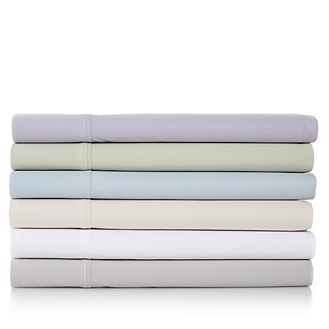 Concierge Collection 100% Cotton Vintage Wash 4-piece Sheet Set