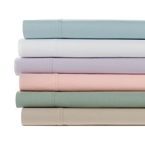 Concierge Collection 4-piece 100% Cotton Vintage Prewashed Sheet Set