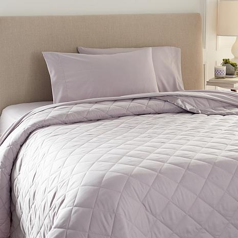 Concierge Collection 5-piece Sheet and Down Alternative Blanket Set
