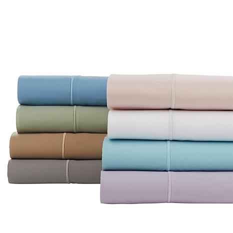 Concierge Collection Microfiber Sheet Set with Extra Pillowcases