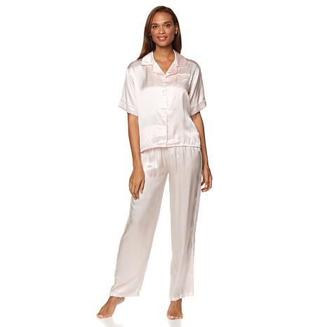 Concierge Collection Platinum Silk Pajamas
