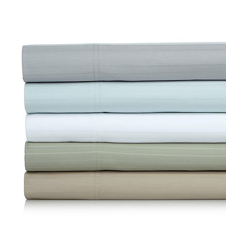 Concierge Collection Stripe 800TC 6pc Sheet Set - Queen
