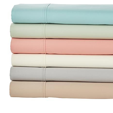 Concierge Collection Wrinkle Warrior 4-pc 400TC 100% Cotton Sheet Set