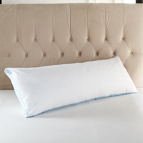 Concierge rx ultra cooling body pillow 2010032 hsn for Best cooling body pillow