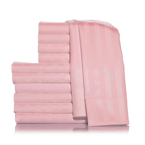 Concierge Set of 3 Solid and Patterned Sheet Sets - T